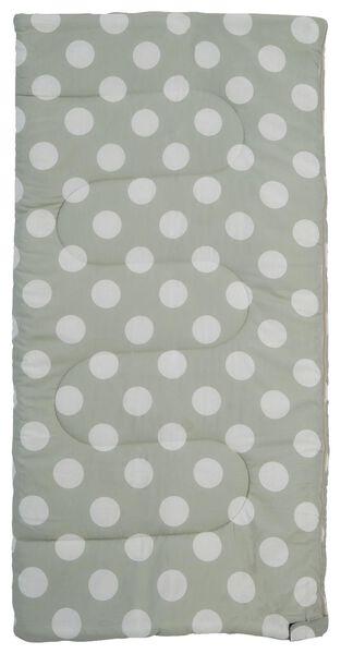 sleeping bag child 140x70 cotton green - 41820389 - hema
