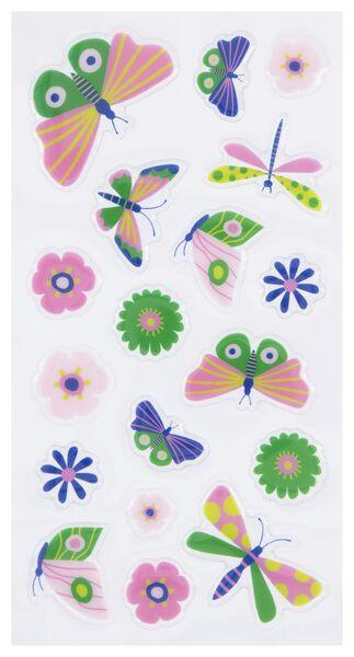 Aufkleber, Schmetterlinge, 2 Bogen - 14700459 - HEMA