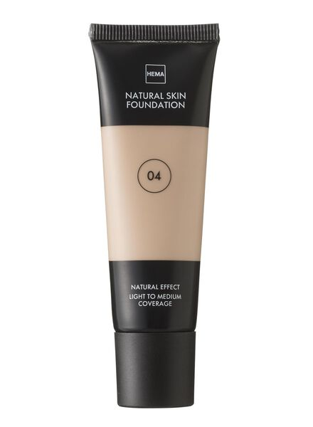 natural skin foundation Beige 04 - 11291004 - hema