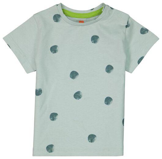 Baby-T-Shirt, Punkte blau blau - 1000023878 - HEMA