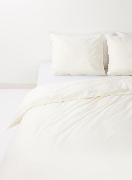 duvet cover - soft cotton - blue ecru - 1000014139 - hema