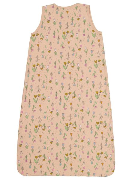 baby sleeping bag non-padded - sleeveless - tulips light pink light pink - 1000017491 - hema