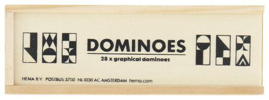 domino grafisch hout - 61122967 - HEMA