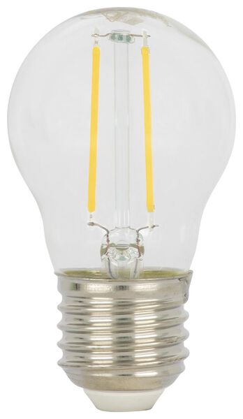 LED-Kugellampe, 40 W, 470 lm, klar - 20020032 - HEMA