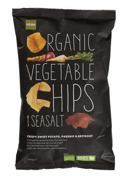chips de légumes bio au sel de mer - 10661133 - HEMA