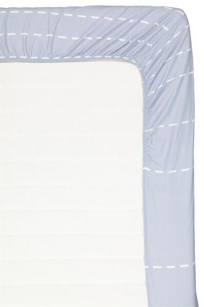 Spannbettlaken – Soft Cotton blau blau - 1000018395 - HEMA