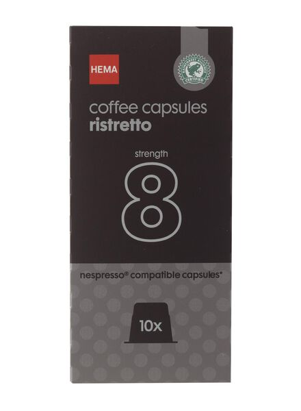 Image of HEMA 10-pack Coffee Cups Ristretto