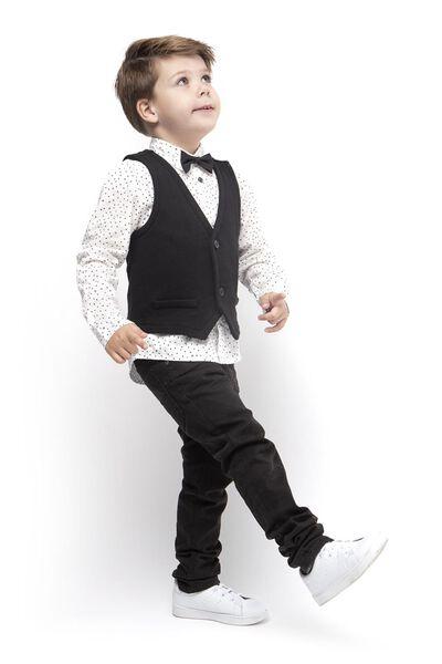 children's waistcoat black black - 1000017210 - hema