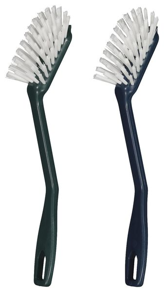 washing-up brush recycled plastic blue - 20510033 - hema