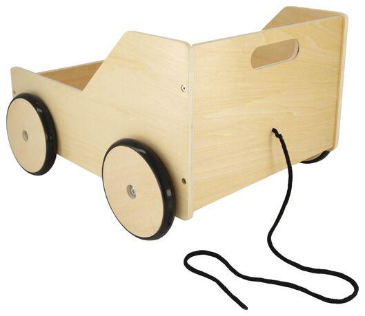 klapkratkar hout 36.5x42x27 - 13222077 - HEMA