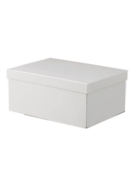 bo te de rangement en carton hema. Black Bedroom Furniture Sets. Home Design Ideas