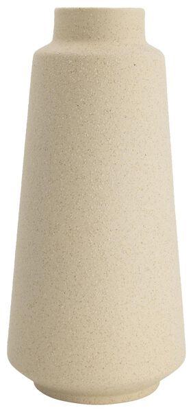Vase, Ø 14 x 30 cm, Keramik, cremeweiß - 13311038 - HEMA