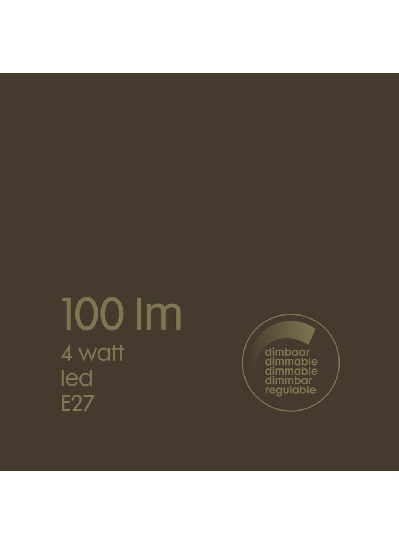 100 Led Edison Ampoule Lumens Hema 4w Titane vf67gyIYb