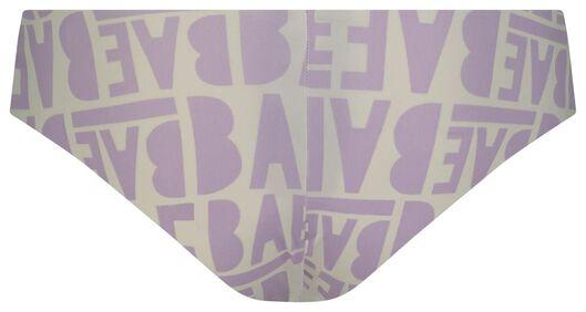 B.A.E. women's Rio briefs lilac lilac - 1000018675 - hema