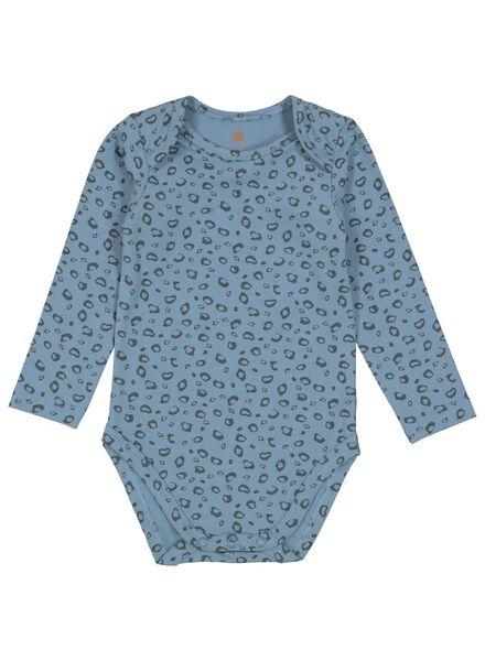 body coton biologique stretch bleu bleu - 1000015307 - HEMA