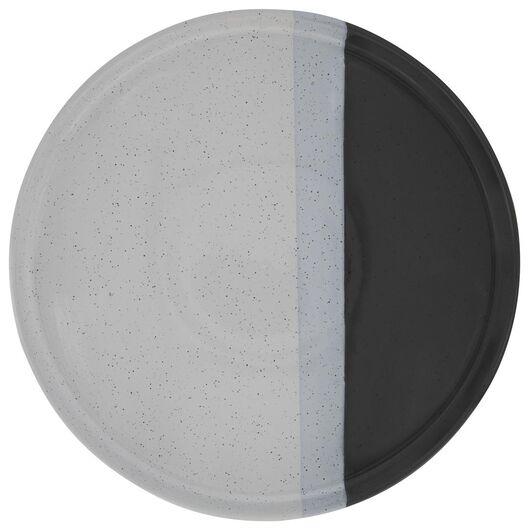 grande assiette - 26 cm - Cordoba - anthracite - 9602122 - HEMA