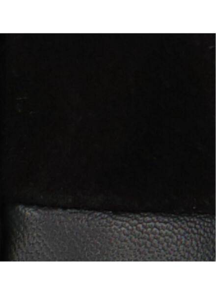 herenhandschoenen suède zwart zwart - 1000015329 - HEMA