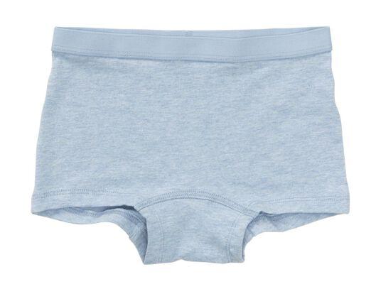 3 boxers enfant bleu foncé bleu foncé - 1000017998 - HEMA