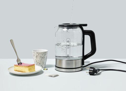 waterkoker glas 1.5L - 80080012 - HEMA