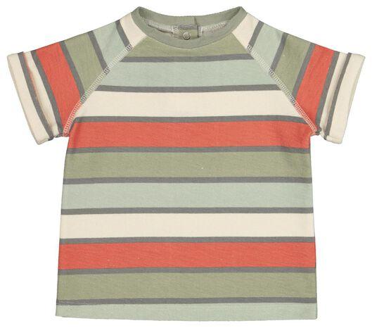 baby T-shirt stripe multi multi - 1000017782 - hema