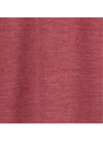 Damen-Pyjama rot rot - 1000017256 - HEMA