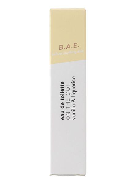 B.A.E. edt on the go! vanilla and liquorice 10ml - 17730012 - HEMA