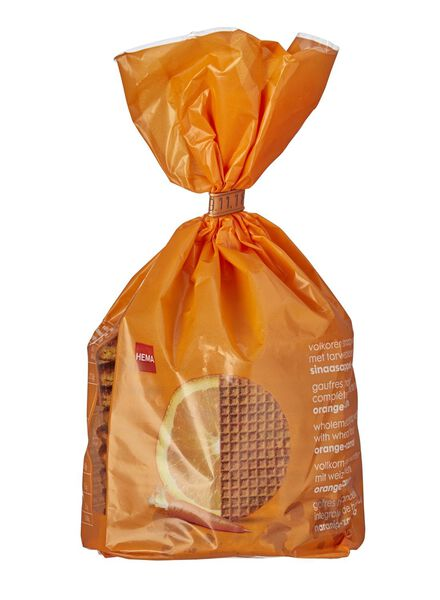 Lot de 10 gaufres hollandaises orange-carotte - 10800006 - HEMA