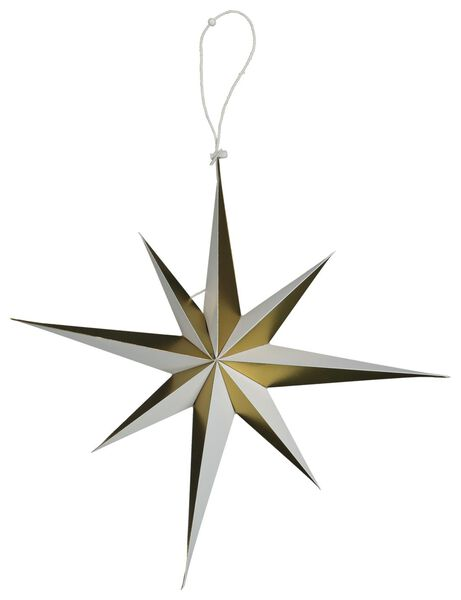étoile de noël en papier Ø45cm doré - 25104342 - HEMA