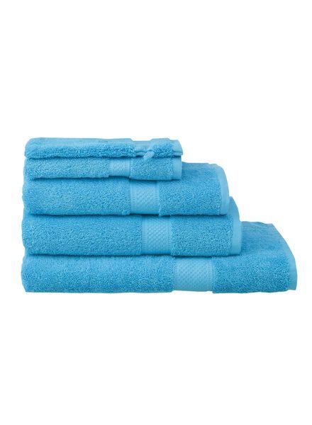 petite serviette - 30x55 cm - qualité épaisse - aqua aqua petite serviette - 5202605 - HEMA