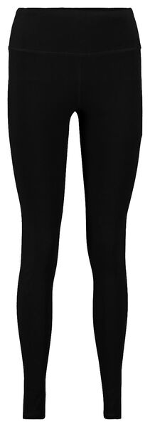 women's sports leggings black XXL - 36040785 - hema