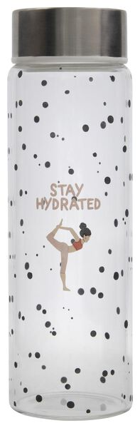 Image of HEMA Water Bottle 500 Ml Glass Stay Hydrated