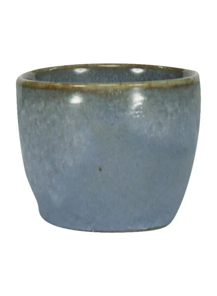 eierdop 5 cm - Porto reactief glazuur - ocean blue - 9602025 - HEMA