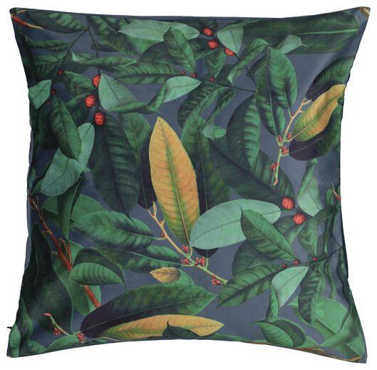 cushion cover 50x50 - velvet leaves - 7322009 - hema