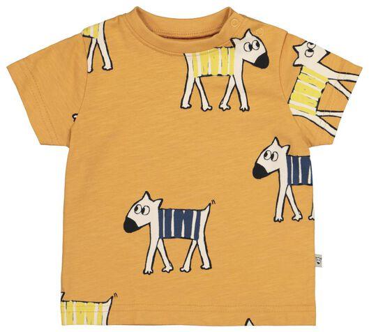 baby T-shirt brown brown - 1000019275 - hema