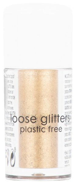 loose glitter - copper - 3 grams - 11200053 - hema