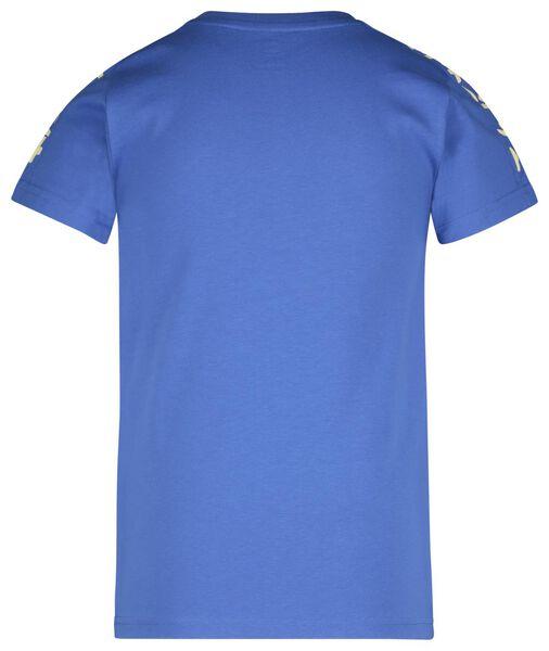 children's T-shirt blue blue - 1000017724 - hema