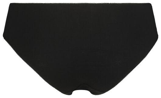 3er-Pack Damen-Hipster schwarz schwarz - 1000020853 - HEMA