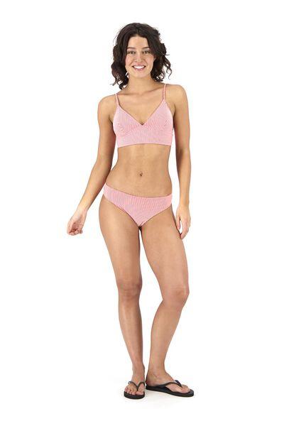 Bademode - HEMA Damen Bikinislip Rosa  - Onlineshop HEMA