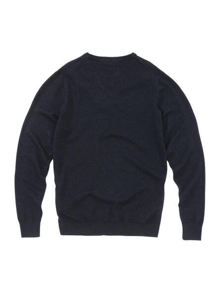 men's sweatshirt dark blue dark blue - 1000005829 - hema
