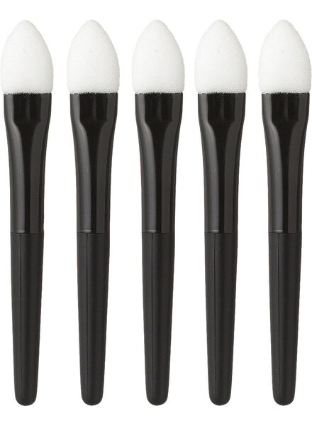 eyeshadow applicators (5pcs) - 11200525 - hema