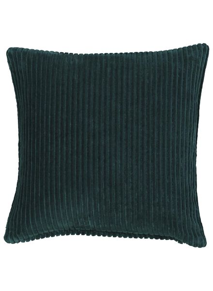 cushion cover - 50x50 - rib - green - 7392018 - hema