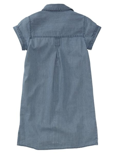 children's dress denim denim - 1000006403 - hema