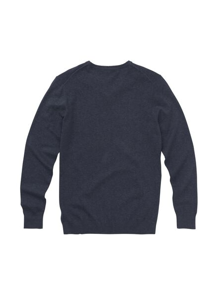 men's sweater dark blue dark blue - 1000006168 - hema