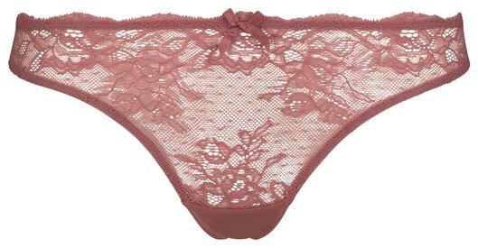 women's thong lace pink pink - 1000018668 - hema