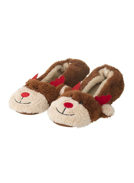 women's slippers brown brown - 1000006340 - hema