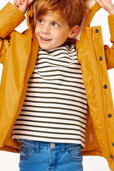 manteau enfant jaune jaune - 1000024359 - HEMA