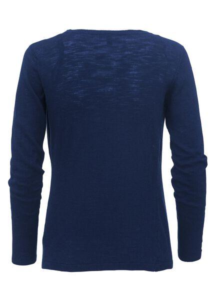 women's cardigan cobalt blue cobalt blue - 1000006824 - hema