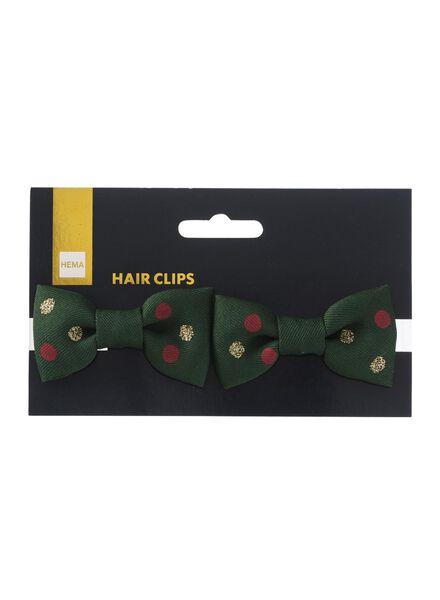 2 pinces à cheveux avec nœud - 60600474 - HEMA