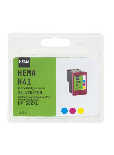 H41 remplace HP 302XL - 38320002 - HEMA