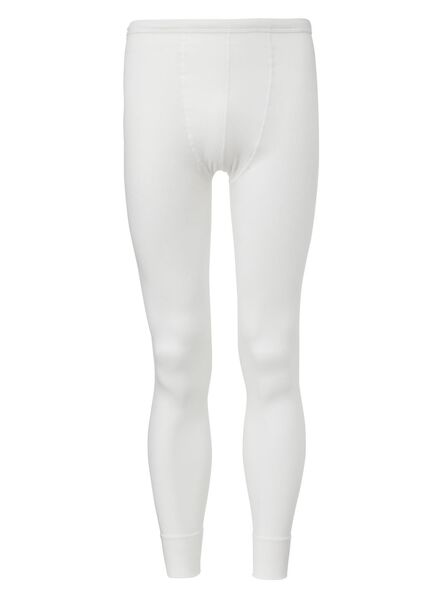 pantalon thermique homme blanc blanc - 1000000990 - HEMA